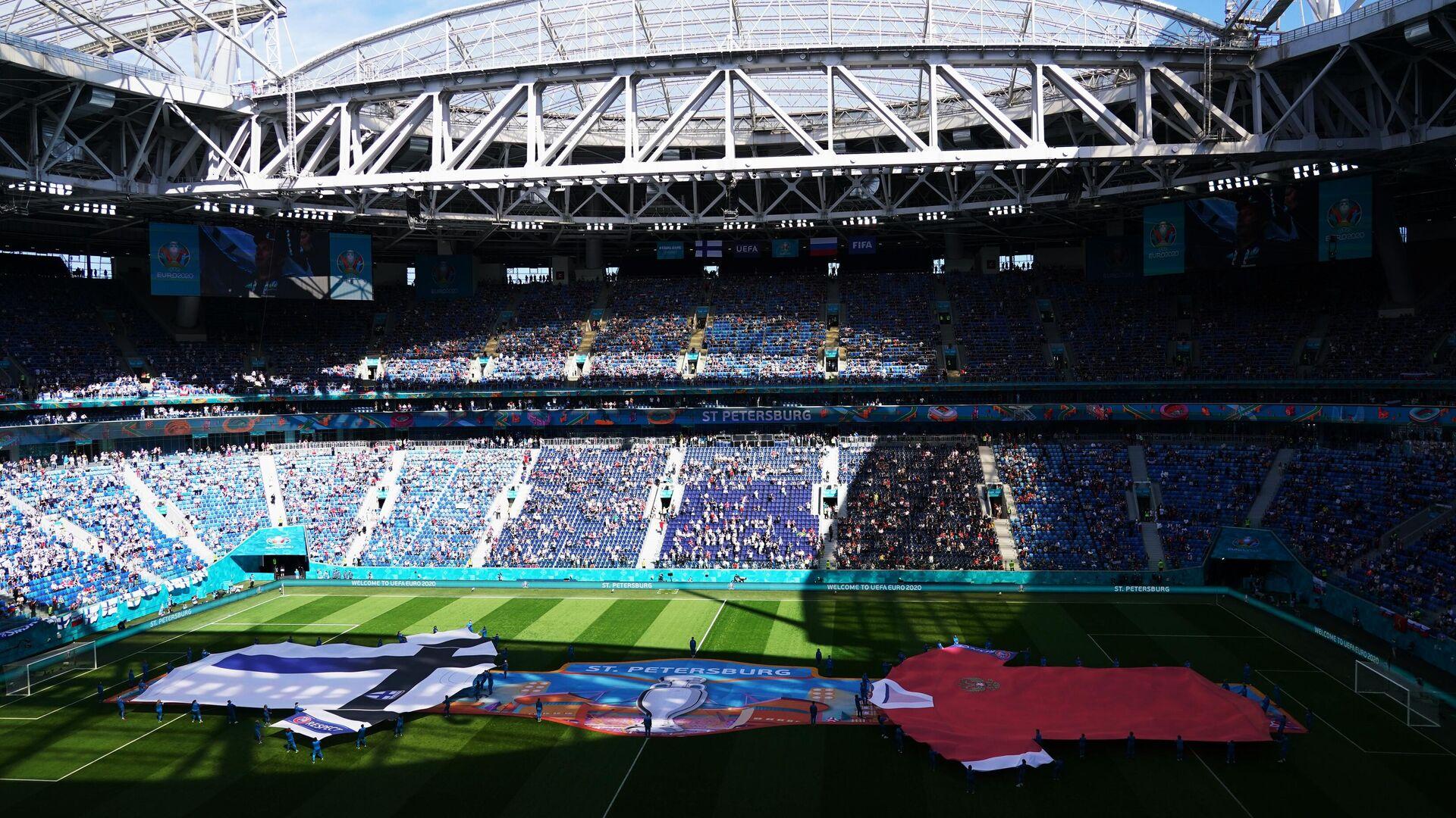 Стадион в Санкт-Петербурге - РИА Новости, 1920, 22.06.2021