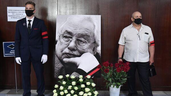 Церемония прощания с генеральным директором ОТР Анатолием Лысенко