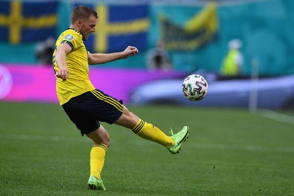Защитник сборной Швеции Людвиг Аугустинсон
