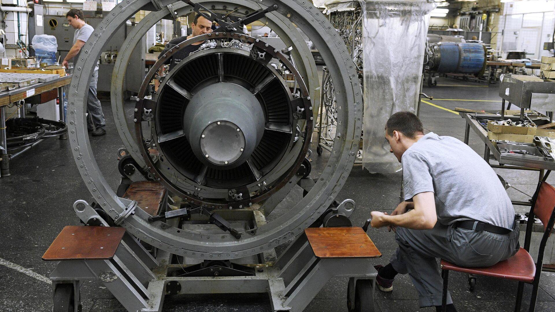 Производство авиадвигателей на ММП имени В. В. Чернышёва - РИА Новости, 1920, 24.06.2021