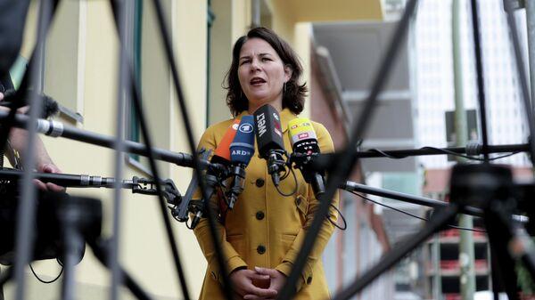 Анналена Бербок, лидер партии Зелёных