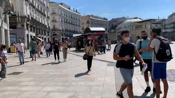 Мадрид после отмены масочного режима на улицах