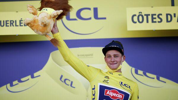 Голландский велогонщик Матье ван дер Пул