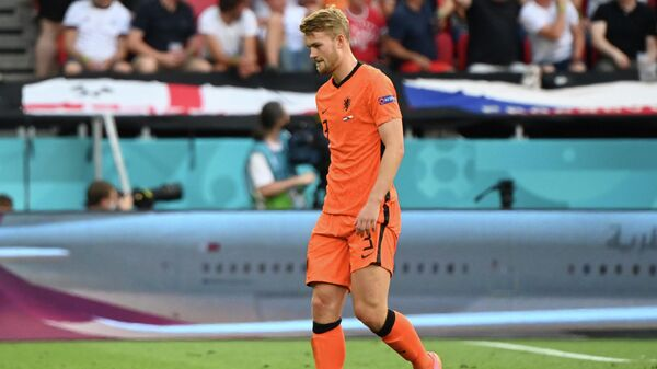 Защитник сборной Нидерландов Маттейс де Лихт