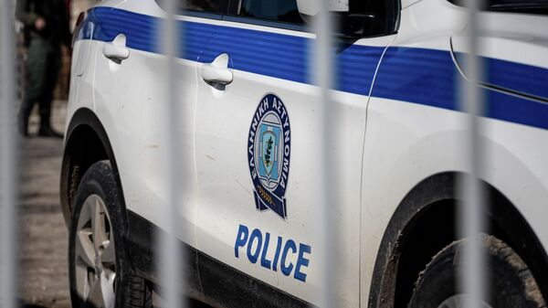 Автомобиль полиции Греции