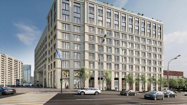 Проект реконструкции гостиницы Варшава в Москве