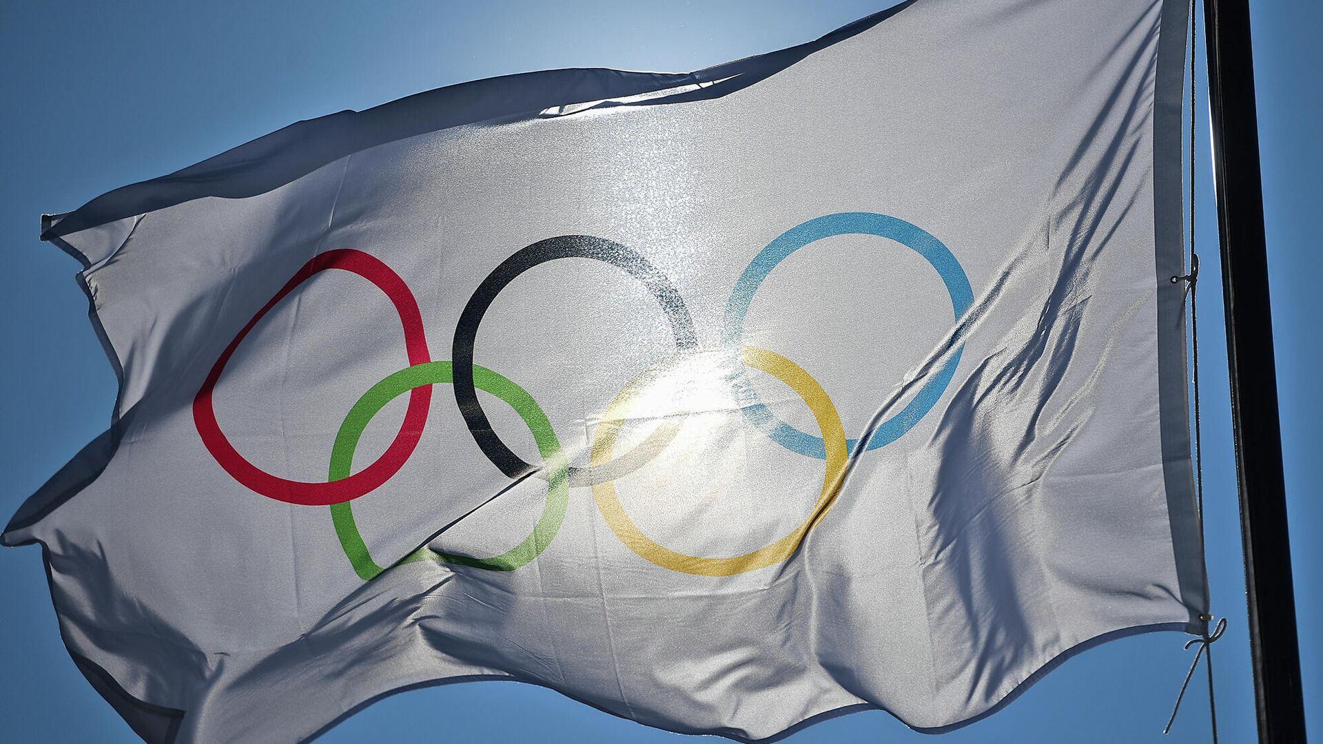 Олимпийский флаг - РИА Новости, 1920, 20.07.2021