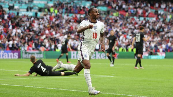 Нападающий сборной Англии Рахим Стерлинг