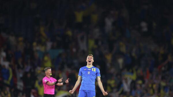 Защитник сборной Украины Илья Забарный