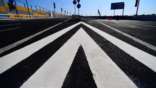 Открытие развязки на пересечении Бесединского шоссе с МКАД