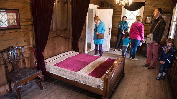 Дом-музей А.П. Ганнибала в усадьбе-музее Ганнибалов Петровское в Псковской области
