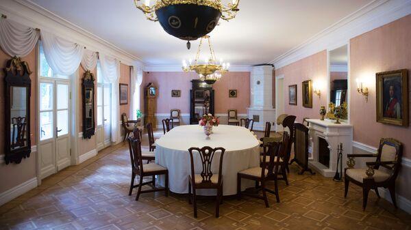 Дом-музей П.А. и В.П. Ганнибалов в усадьбе-музее Ганнибалов Петровское в Псковской области