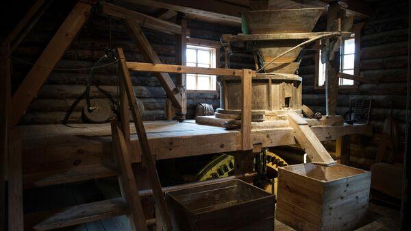 Музей-мельница в деревне Бугрово в Псковской области