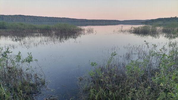 Вид в усадьбе Петровское