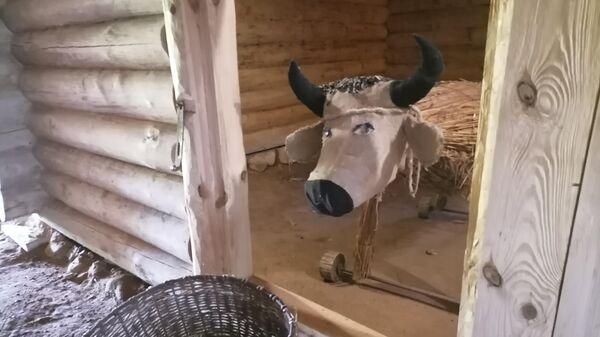 Корова в Бугрово