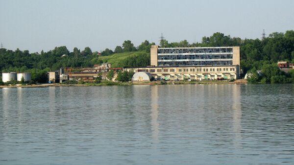 Бывший Заволжский химический завод