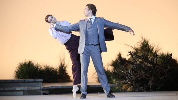 Фрагмент балета Чайка