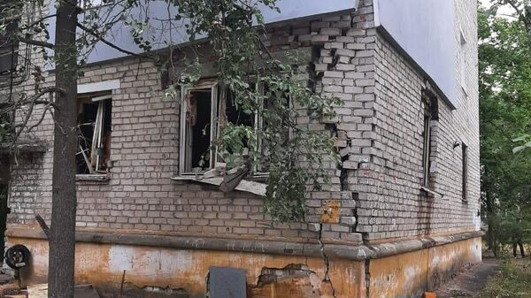 На месте взрыва газовоздушной смеси в жилом доме в Нижнем Новгороде