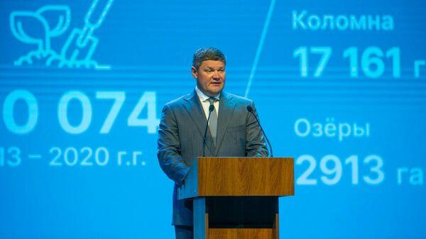 Глава Городского округа Коломна Денис Лебедев