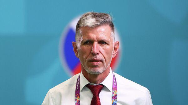 Главный тренер сборной Чехии Ярослав Шилгавы