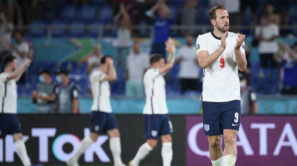 Нападающий сборной Англии Гарри Кейн