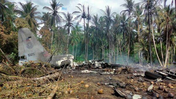 Крушение самолета C-130 ВВС Филиппин