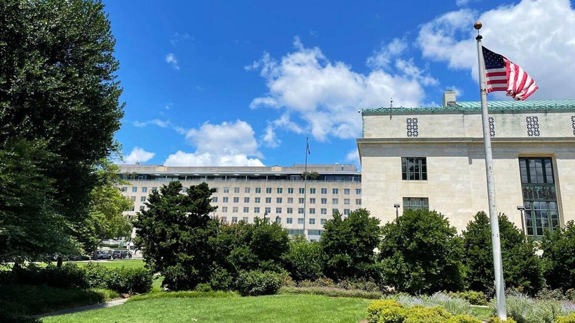 Здание Государственного департамента США в Вашингтоне - РИА Новости, 1920, 20.08.2021