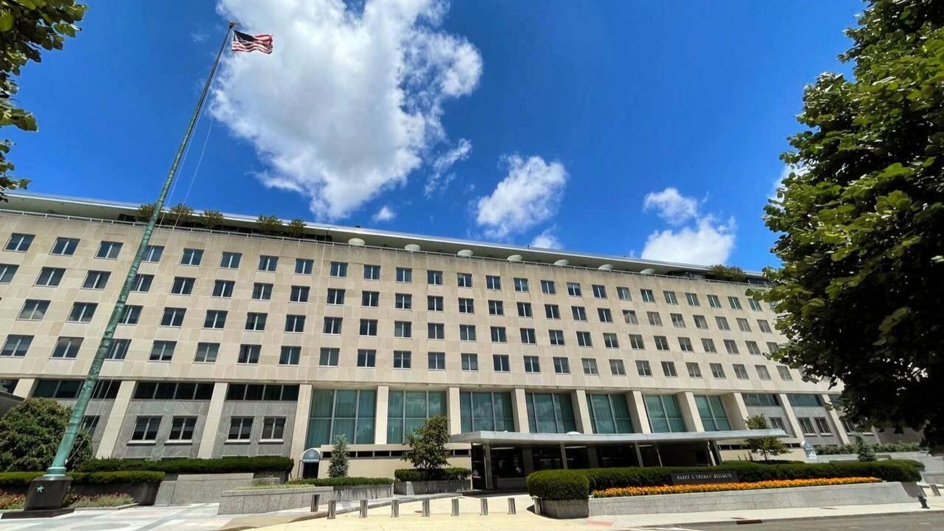 Здание Государственного департамента США в Вашингтоне - РИА Новости, 1920, 20.09.2021