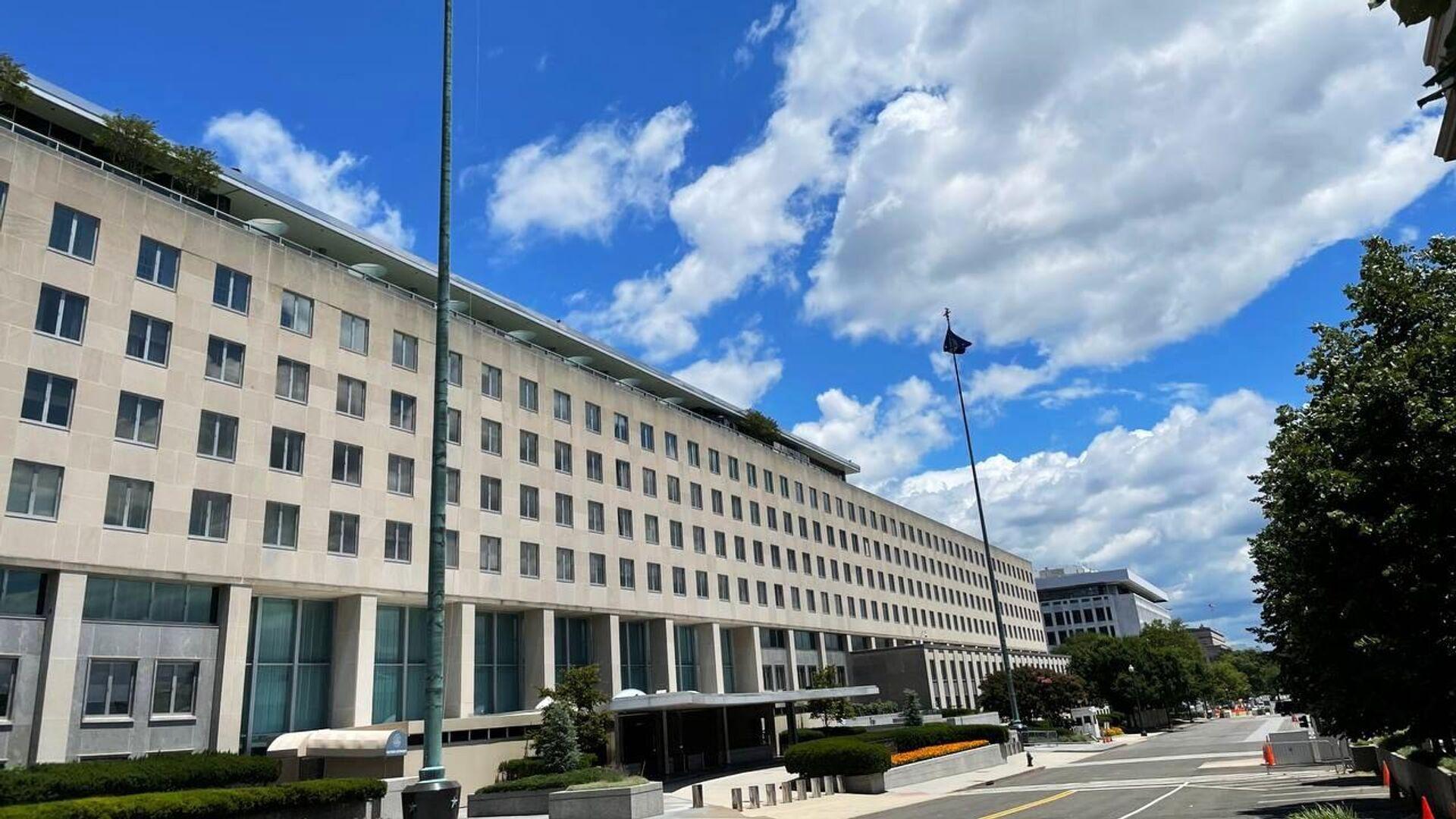 Здание Государственного департамента США в Вашингтоне - РИА Новости, 1920, 17.09.2021