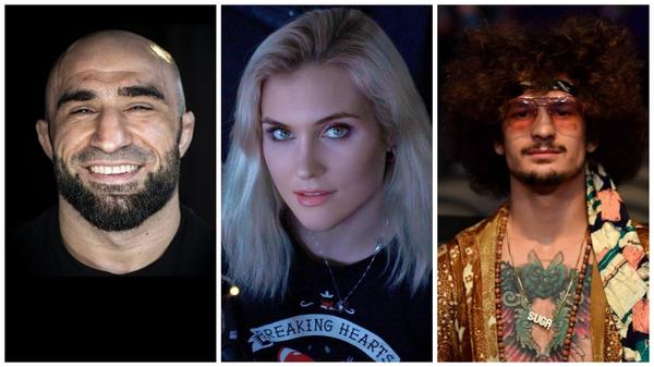 Участники турнира UFC 264