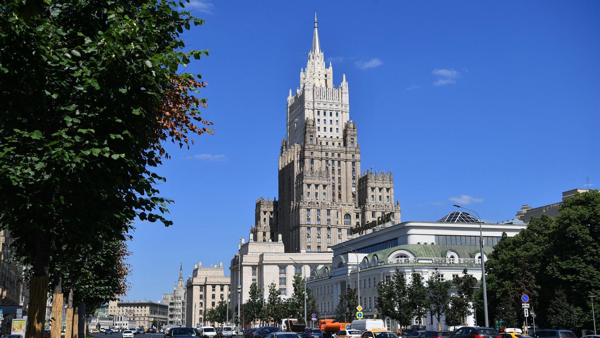 Здание Министерства иностранных дел РФ в Москве - РИА Новости, 1920, 21.09.2021