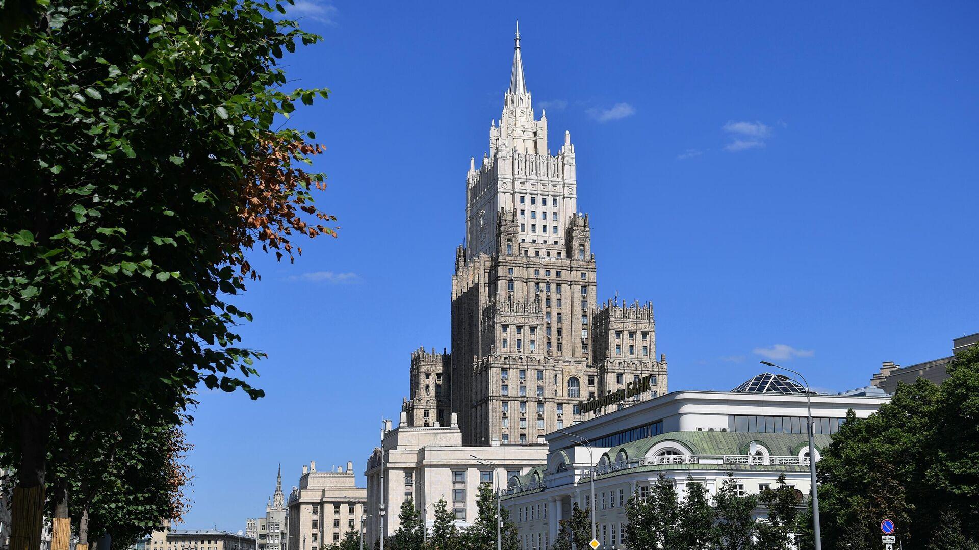 Здание Министерства иностранных дел РФ в Москве - РИА Новости, 1920, 29.09.2021