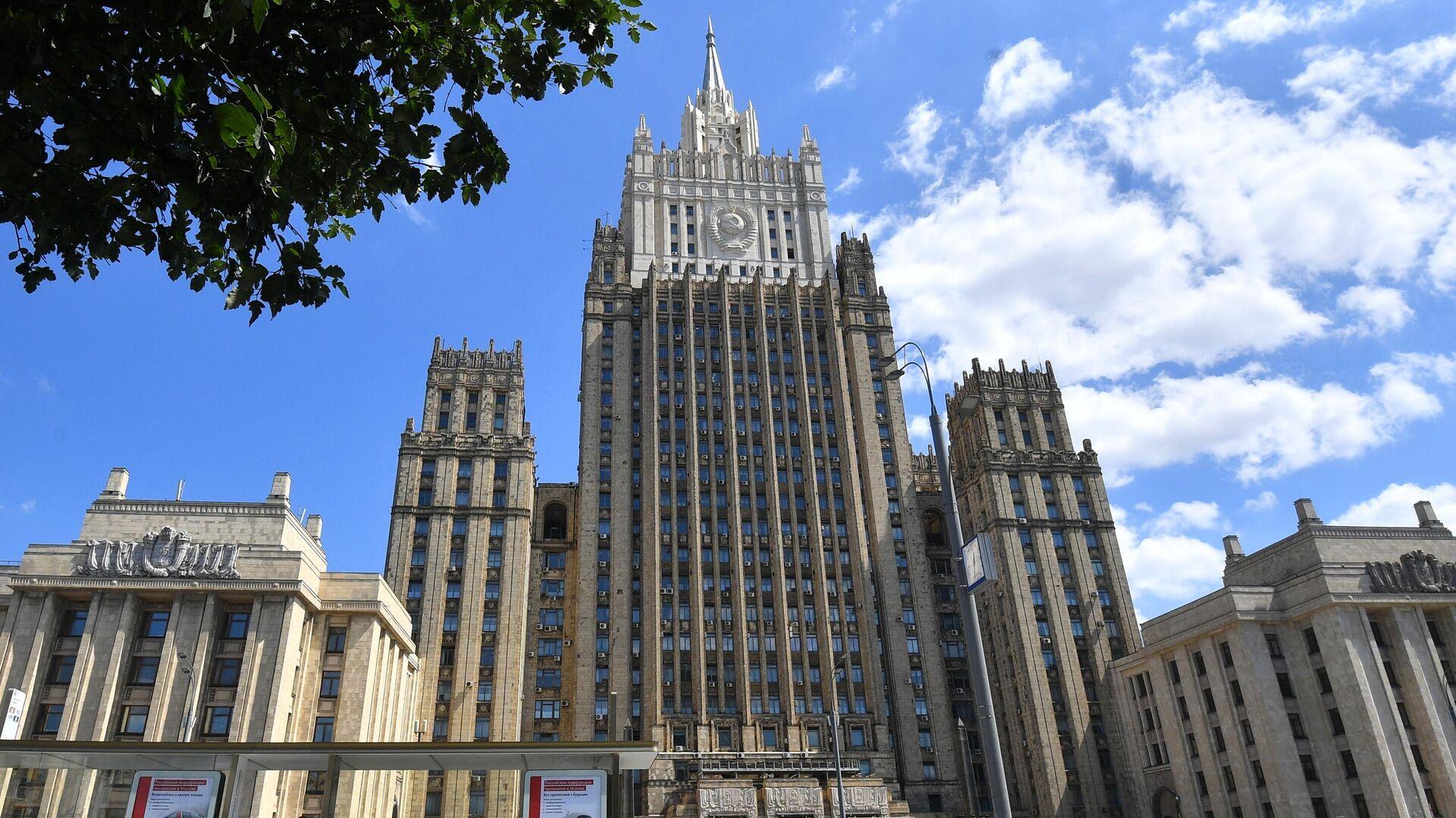 Здание Министерства иностранных дел РФ в Москве - РИА Новости, 1920, 13.10.2021