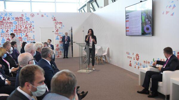 Участники встречи на платформе РЭЦ в рамках форума Иннопром 2021