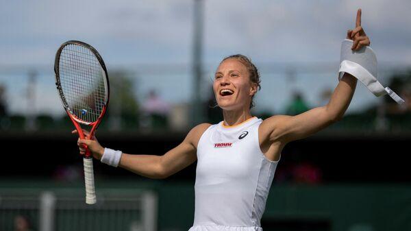 Швейцарская теннисистка Виктория Голубич