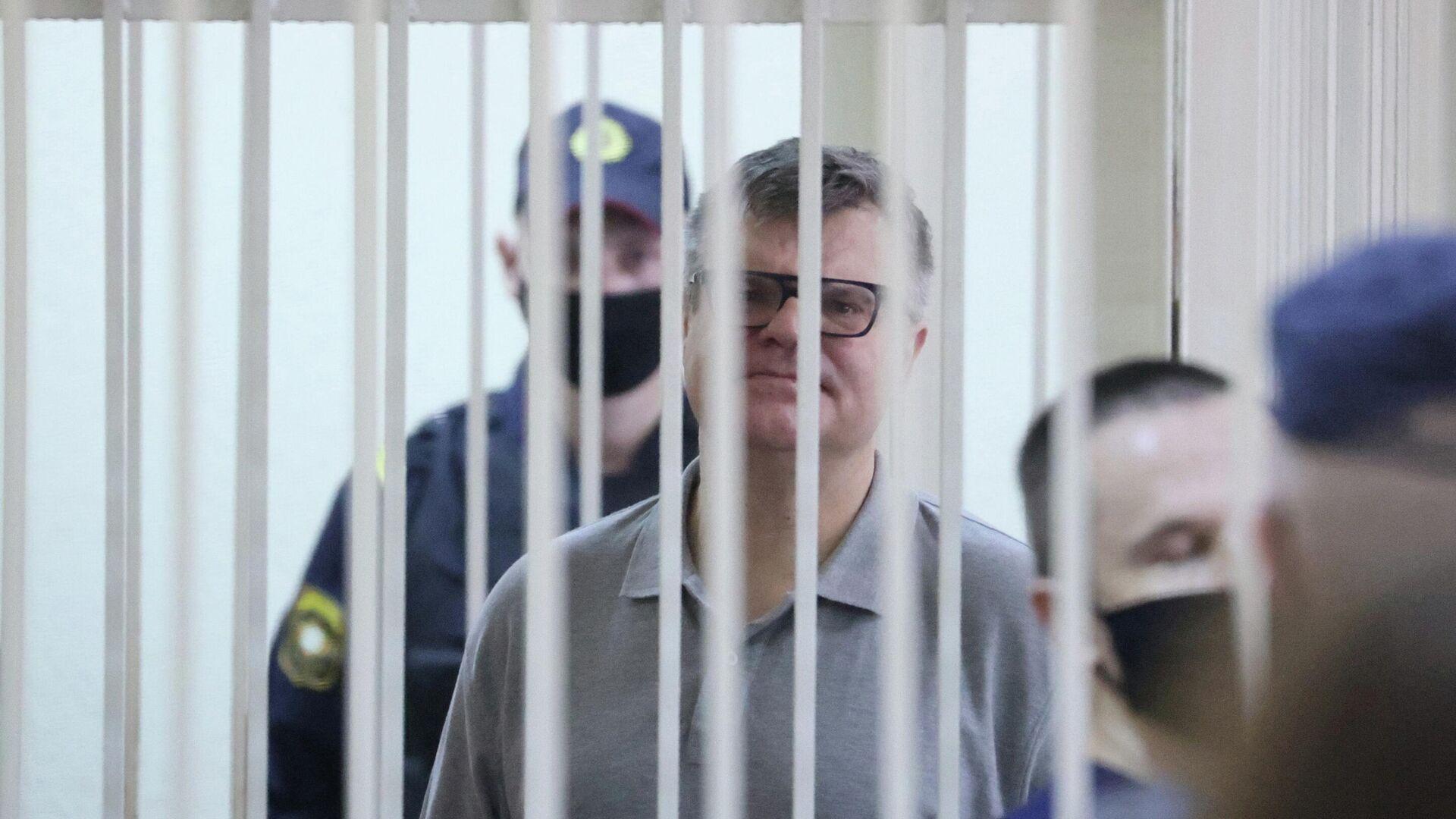 Виктор Бабарико в суде во время оглашения приговора - РИА Новости, 1920, 06.07.2021