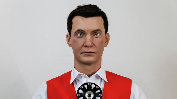 Человекоподобный робот, созданный российской компанией Promobot