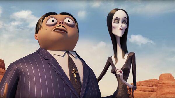 Кадр из трейлера мультфильма Семейка Аддамс 2