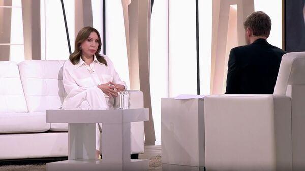 Ирина Меладзе в передаче Судьба человека. Кадр видео