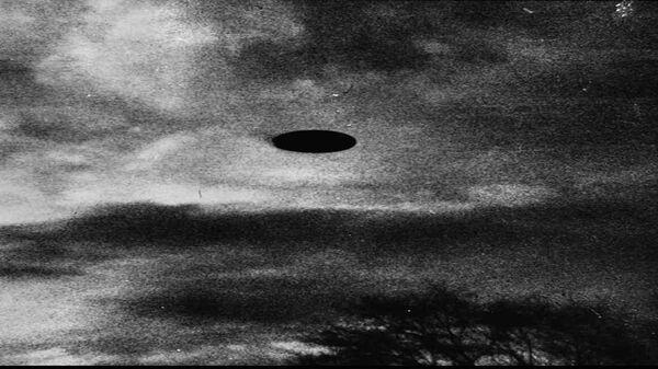 Неопознанный летающий объект в небе над Салемом, Орегон