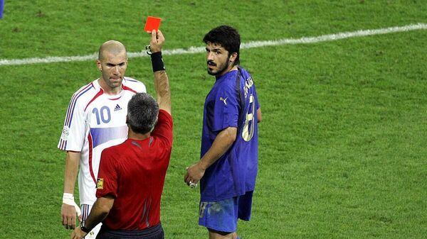Зинедин Зидан в финальном матче чемпионата мира - 2006