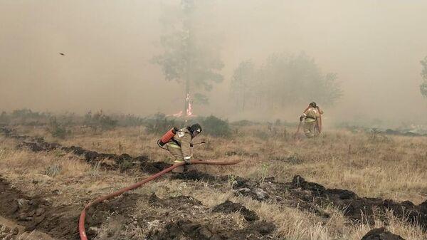 Природные пожары в Челябинской области в июле 2021