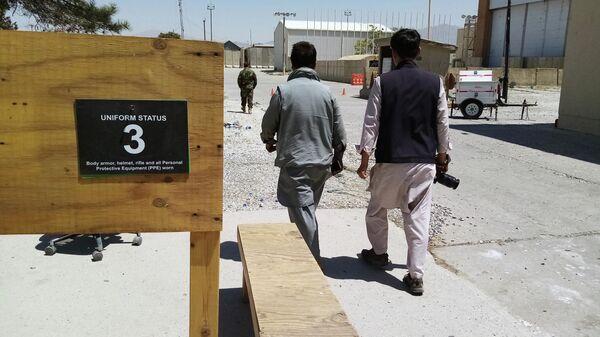 Брошенная авиабаза США в Баграме, Афганистан