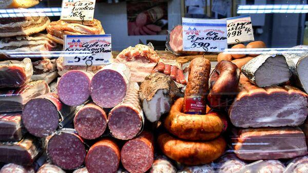 Продажа колбасных изделий, сала