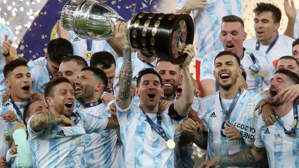 Сборная Аргентины - победитель Кубка Америки