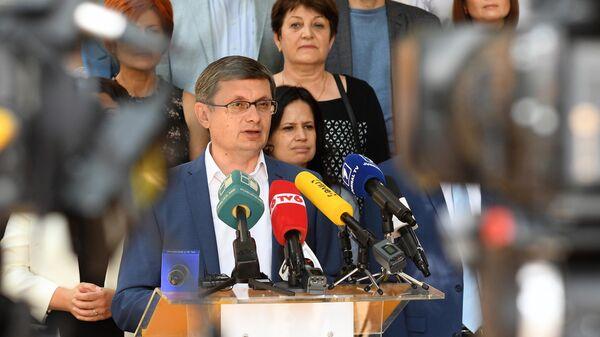 Генеральный секретарь партии Действие и Солидарность (ПДС) Игорь Гросу