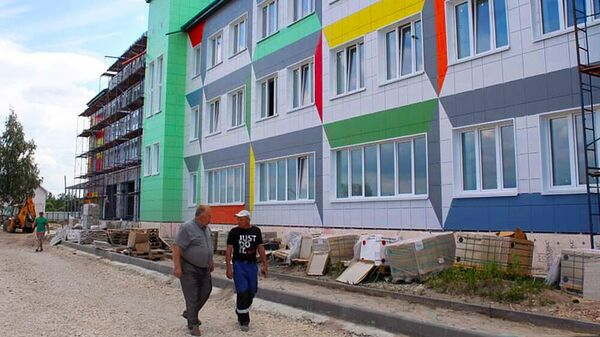 Новая школа в Большом Хомутце откроется 1 сентября