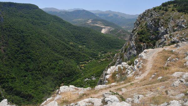 Граница непризнанной Нагорно-Карабахской республики с Азербайджаном