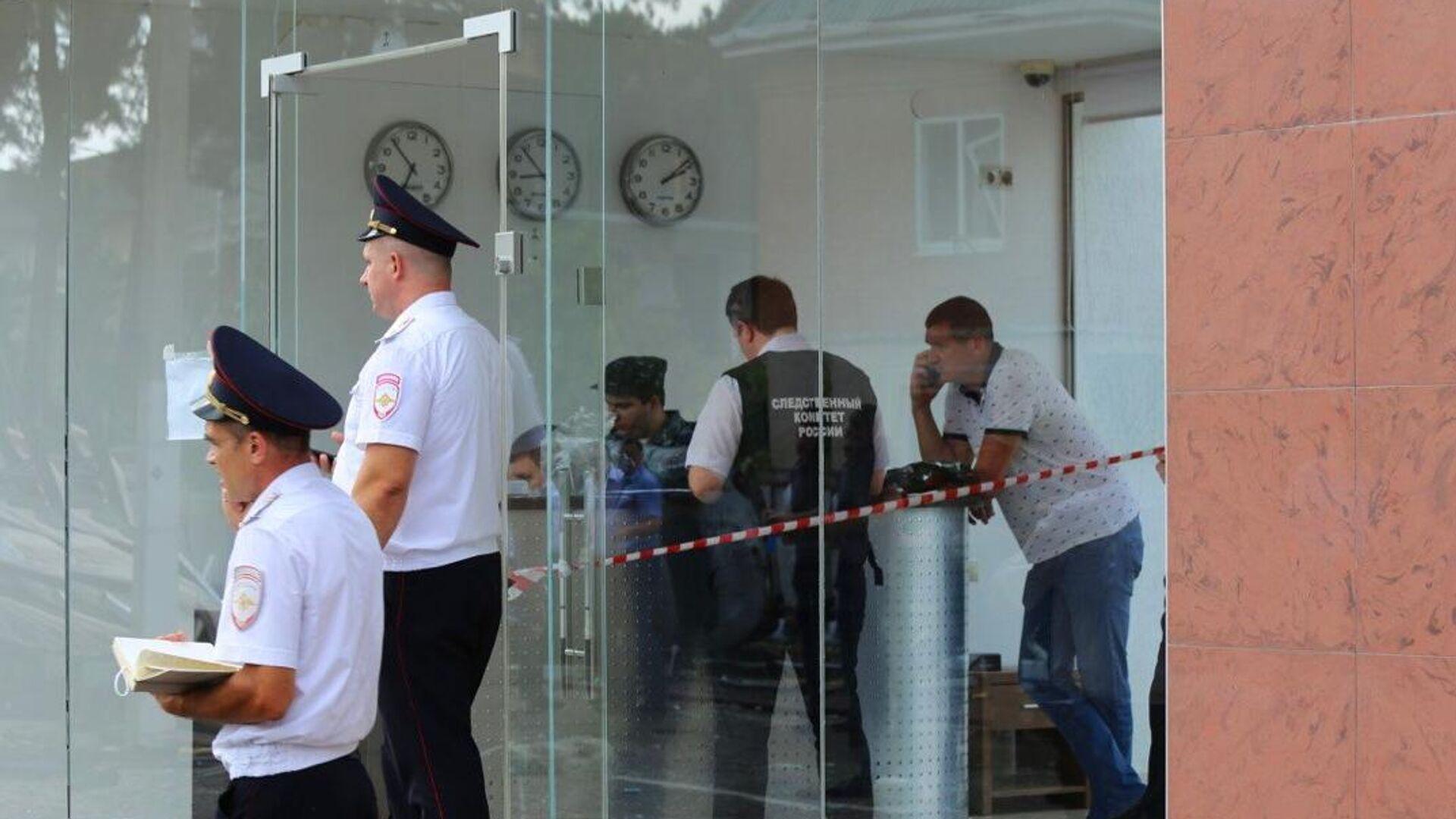 Взрыв газа в гостинице в Геленджике - РИА Новости, 1920, 18.07.2021