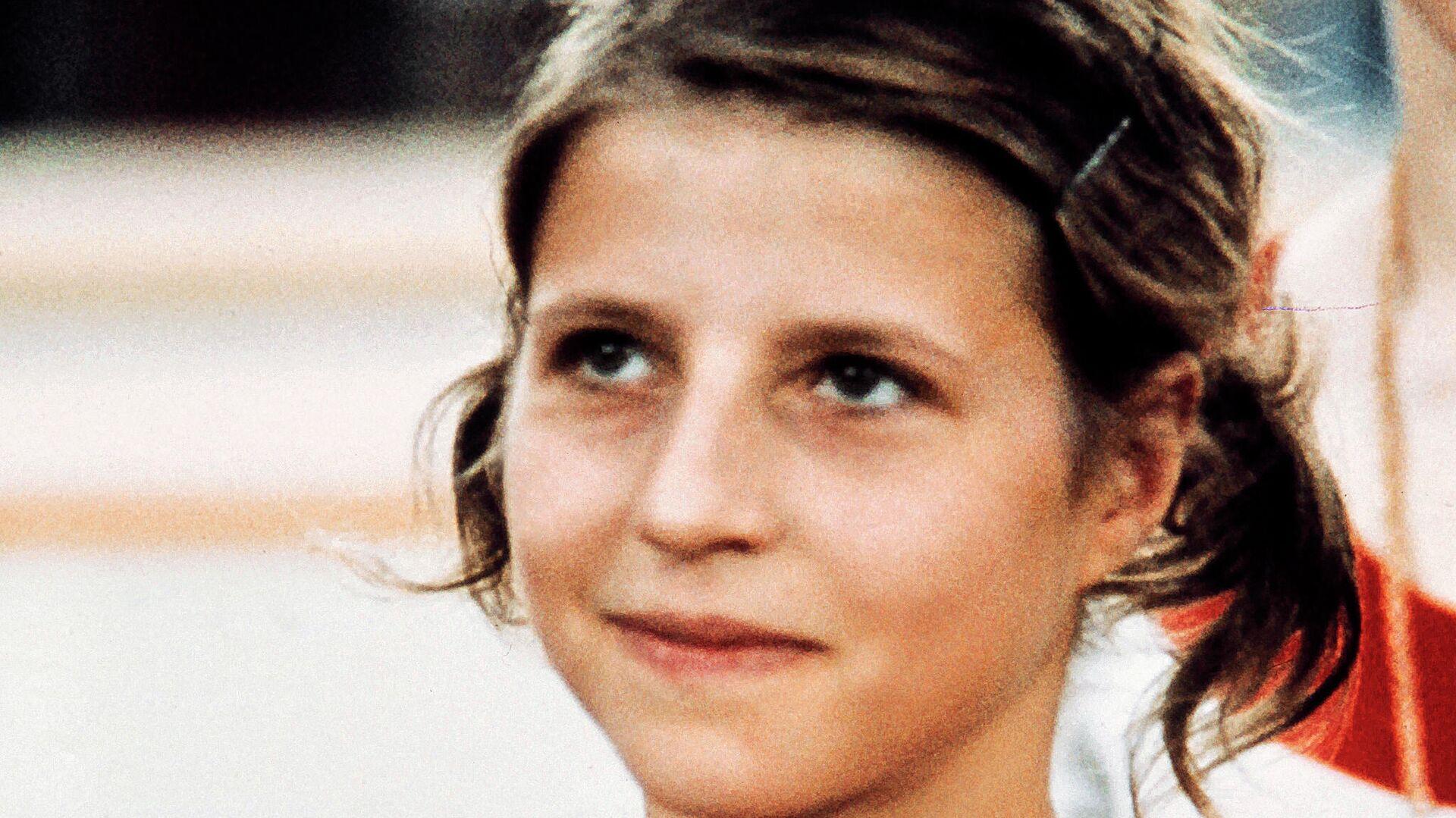 Гимнастка Ольга Корбут на Олимпийских играх 1972 года в Мюнхене - РИА Новости, 1920, 14.07.2021